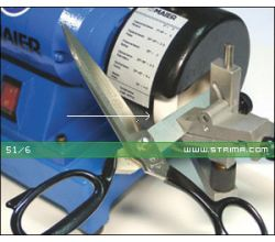 MAIER brusný kotouč pro nůžky, určeno pro stroj 68/1 82-100 [R], bílý